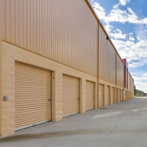 Convenient drive-up accessed storage units at A-1 Self Storage in San Diego, California