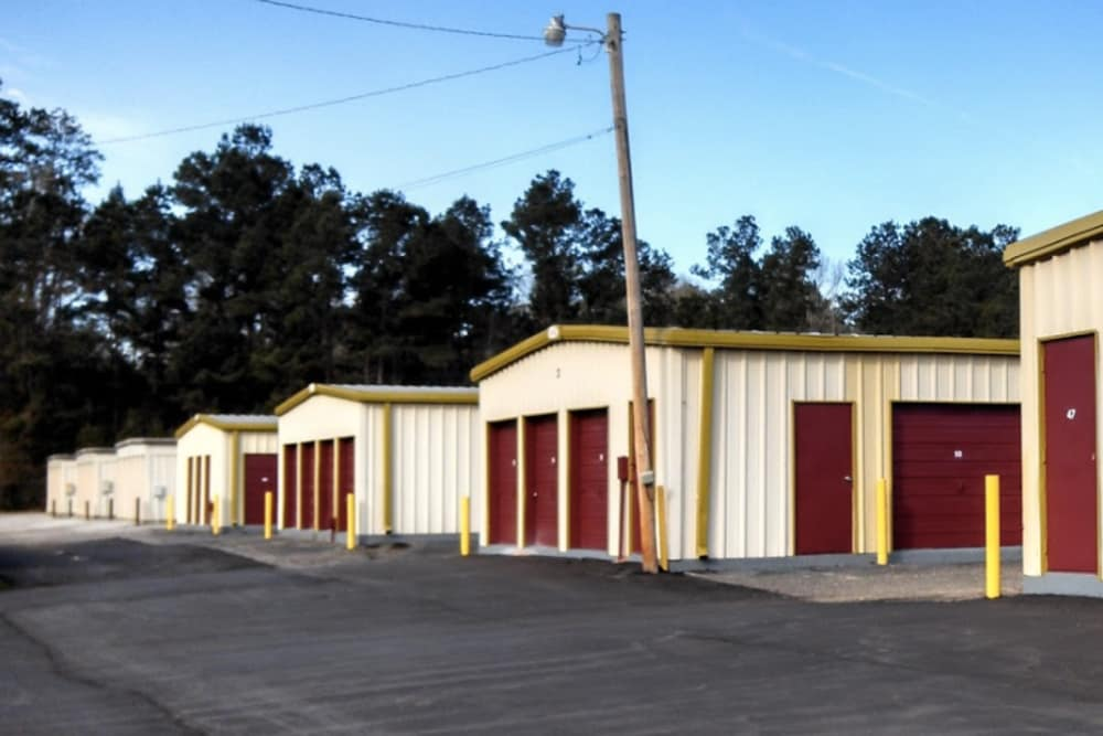 Storage units to rent at Outback Self Storage in Hattiesburg, Mississippi