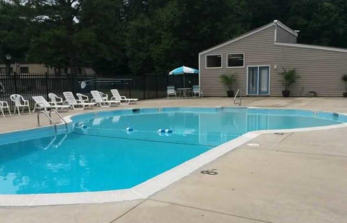 Swimming pool at Residences at Sonoma Woods in Newport News, VA