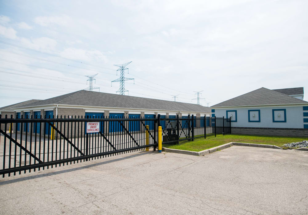 Gate at Apple Self Storage - Bowmanville in Bowmanville, Ontario
