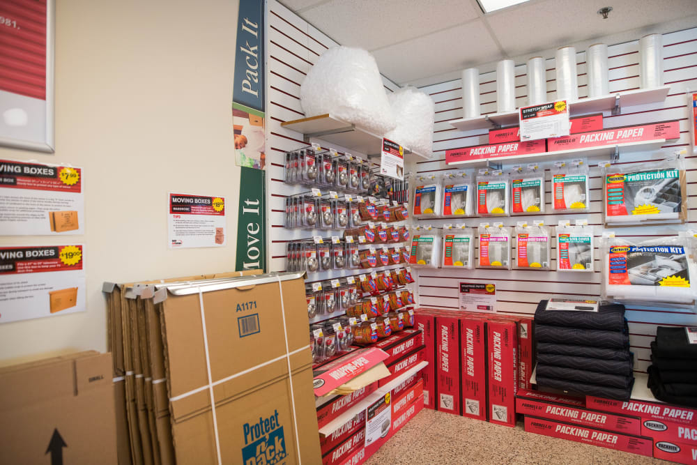 Packing and moving supplies available at Apple Self Storage - Dartmouth in Dartmouth, Nova Scotia