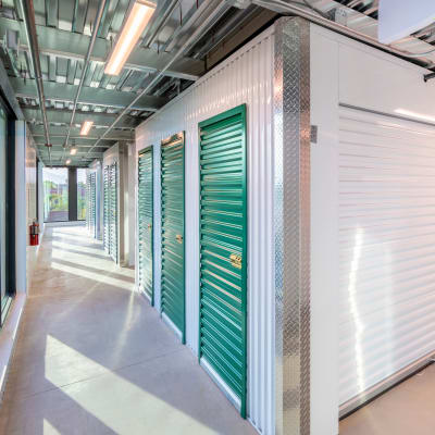 Interior storage space at Towne Storage - Mesa in Mesa, Arizona