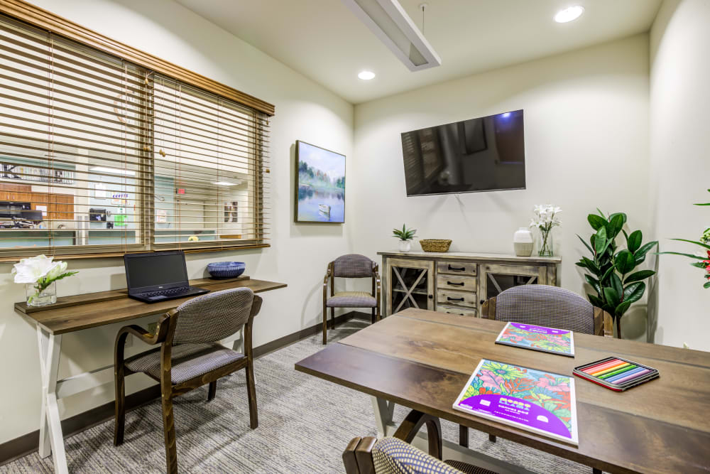 Activity Room at Memory Haven