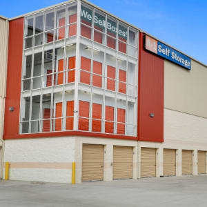 Exterior view of A-1 Self Storage in Belmont, California