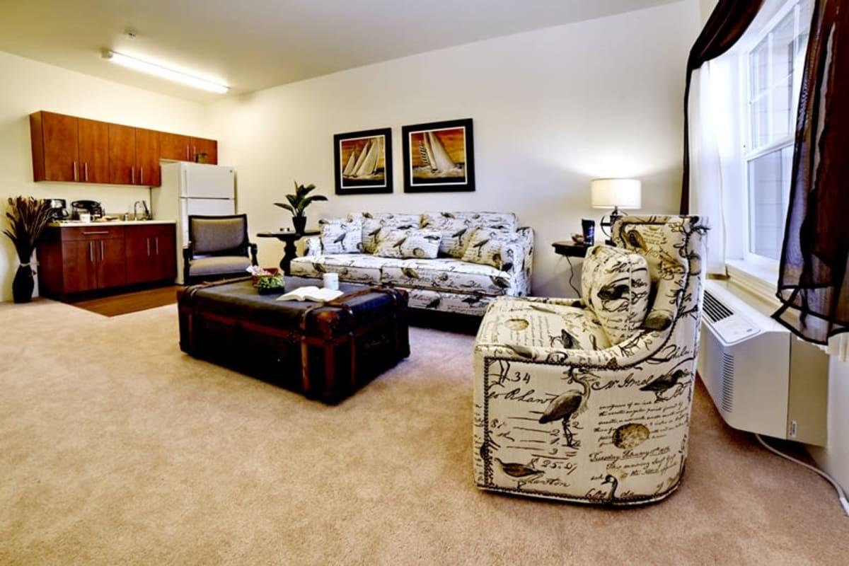Floor plans at Sanford Estates Gracious Retirement Living in Roswell, Georgia