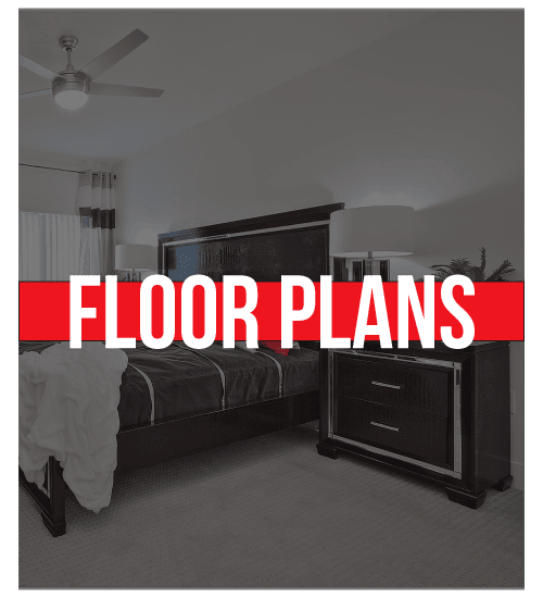 Floor plans at SW Apartments in Las Vegas