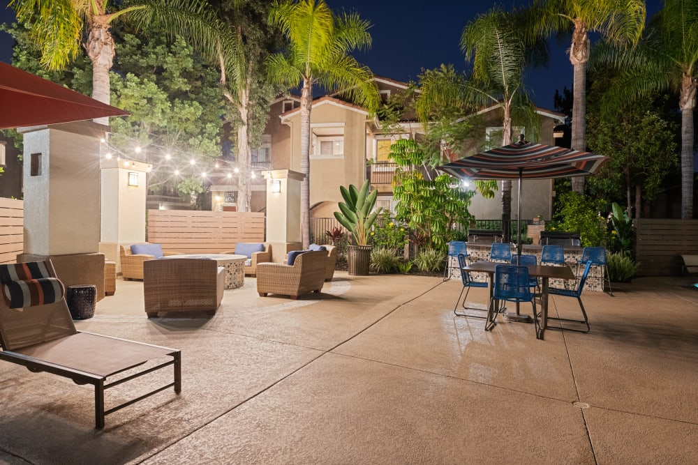 Outdoor community space at Sofi Westview in San Diego, California