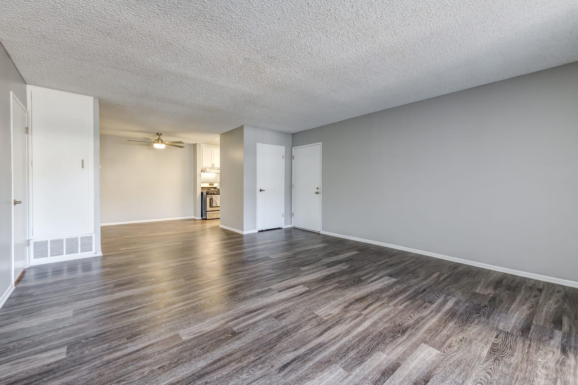 Hardwood Floors Available At Kendallwood Apartments