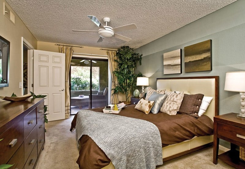 Spacious bedroom at apartments in Phoenix, Arizona