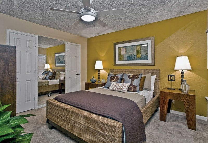 Guest Bedroom at Greenspoint at Paradise Valley in Phoenix, Arizona