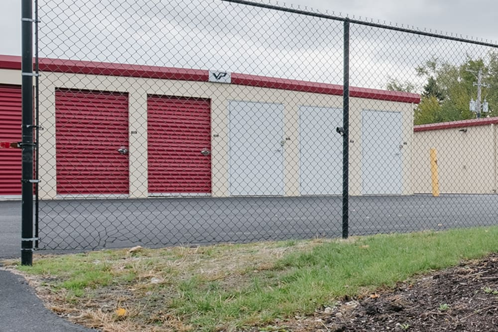 Entrance to our storage units at StayLock Storage in Fort Wayne, Indiana