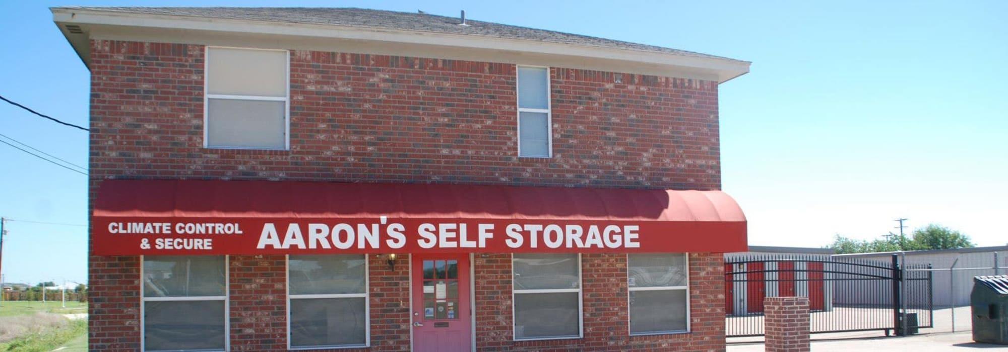 Aarons Self Storage 1 self storage in Waco, Texas
