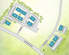 Site map at Allen Creek Apartments in Burlington, KY