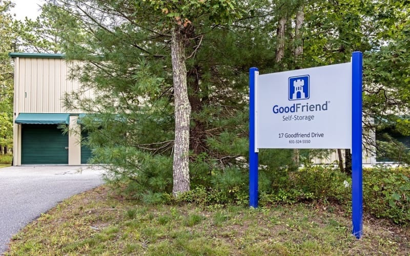 Leave a review for GoodFriend Self Storage East Hampton