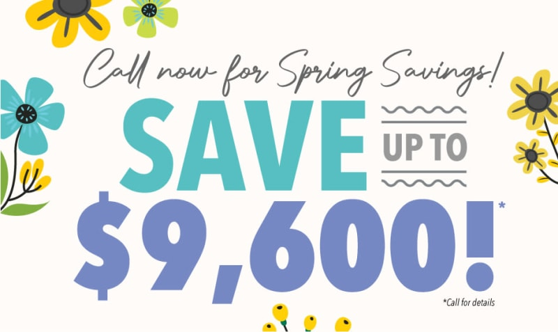 Alderbrook Village spring savings
