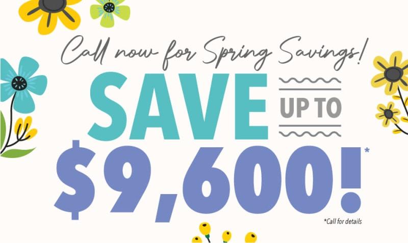 Alderbrook Village spring savings
