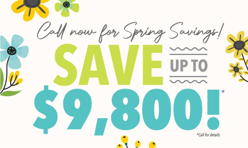 Creekside Village spring savings