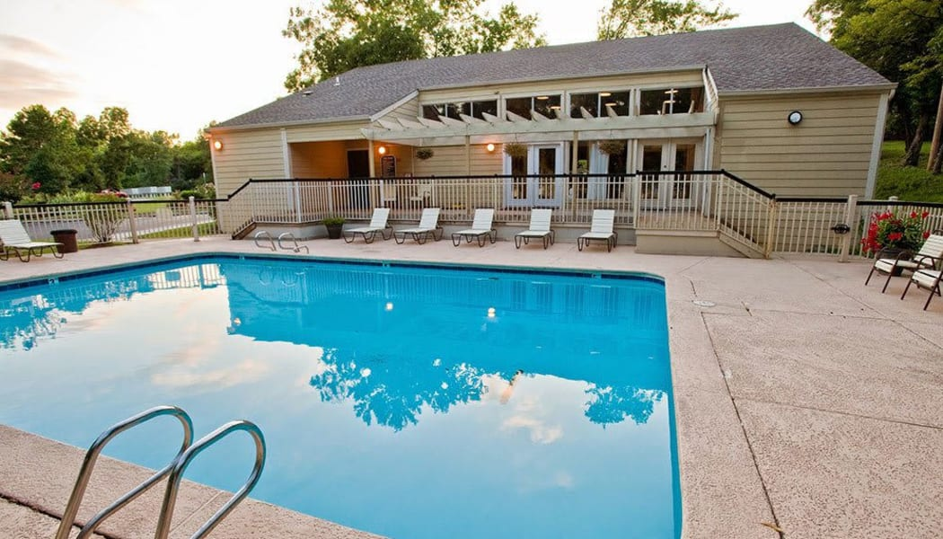 The pool at Country Hollow in Tulsa, Oklahoma