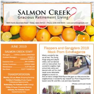 June Salmon Creek Newsletter