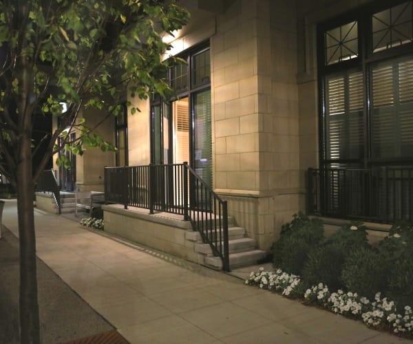 Exterior entryway to All Seasons Birmingham in Birmingham, Michigan