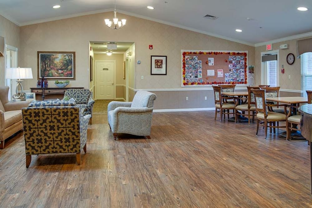 Common area at Capetown Senior Living in Cape Girardeau, Missouri