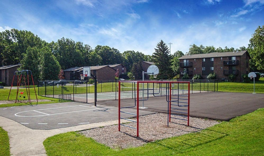 Playground in our High Acres Apartments & Townhomes community