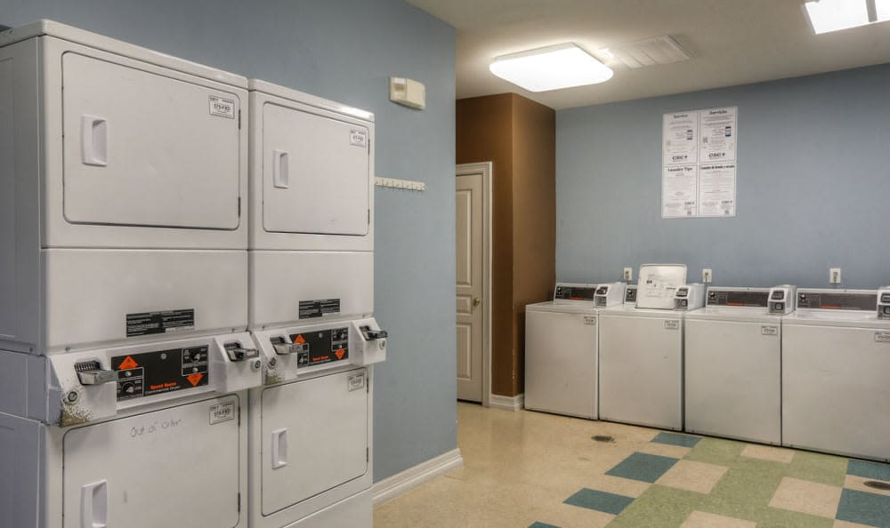 Laundry facilities at Stone Creek Apartments