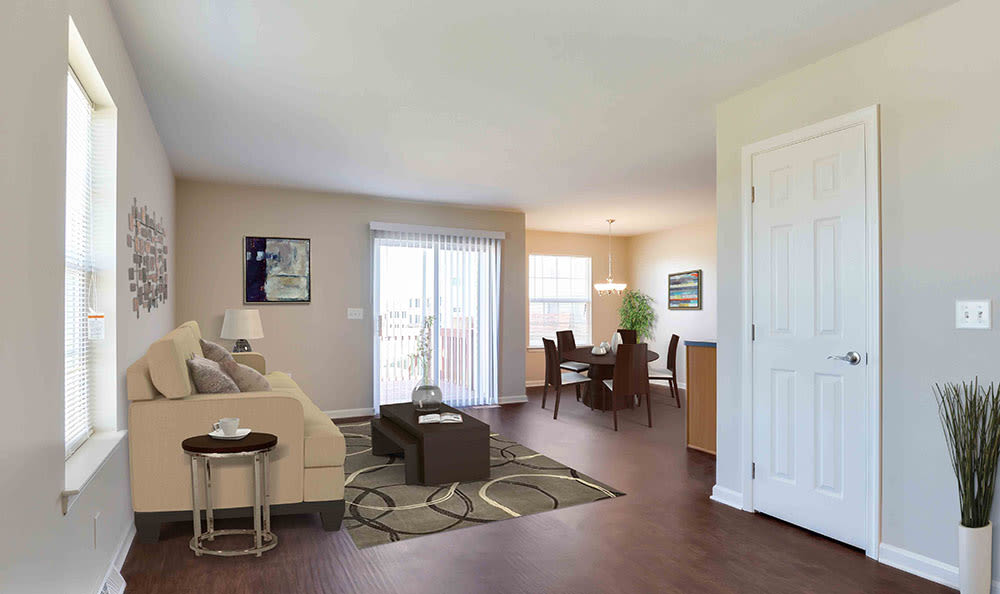 Open floor plan space at Lion's Gate in Red Lion