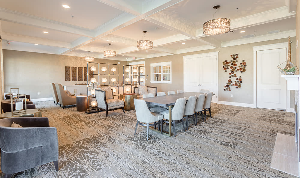 Renovated dining room in Rochester, New York