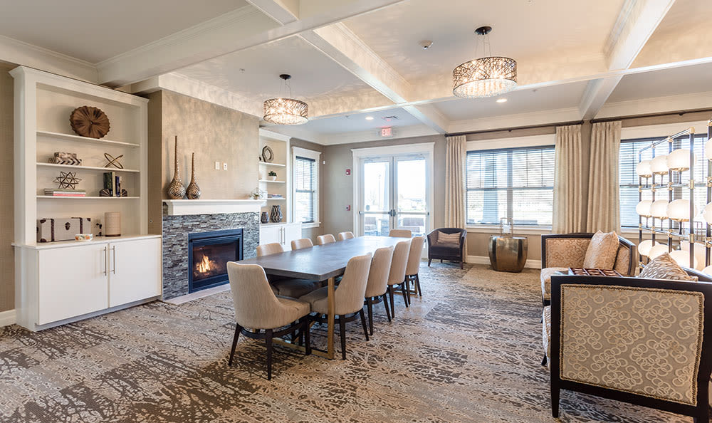 Spacious dining room in Rochester, New York