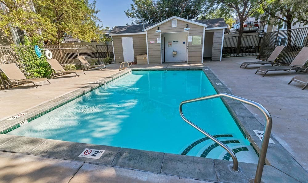 Swimming pool at Seasons at Pebble Creek in Salt Lake City, UT