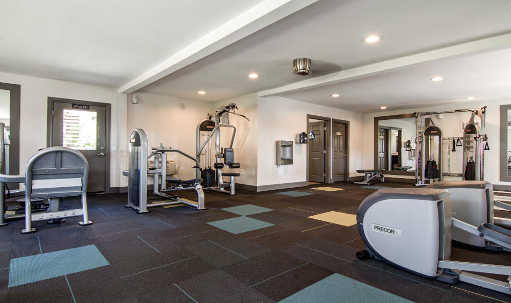 Gym is great for entertaining at Sofi Poway in Poway, CA