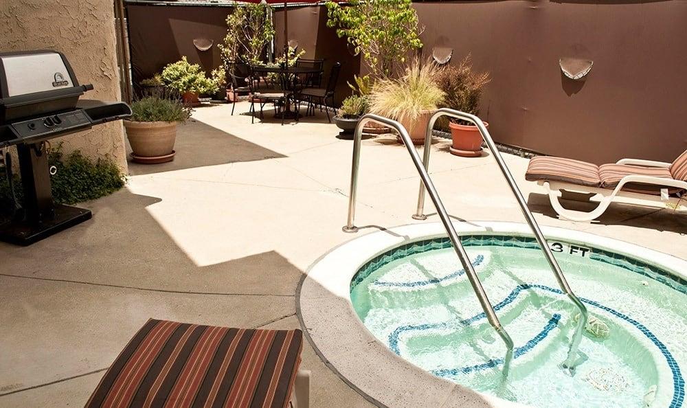 Hot Tub At Cypress Point
