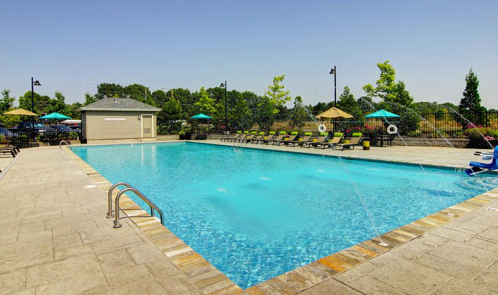 Swimming pool at Terrene at the Grove in Wilsonville, Oregon