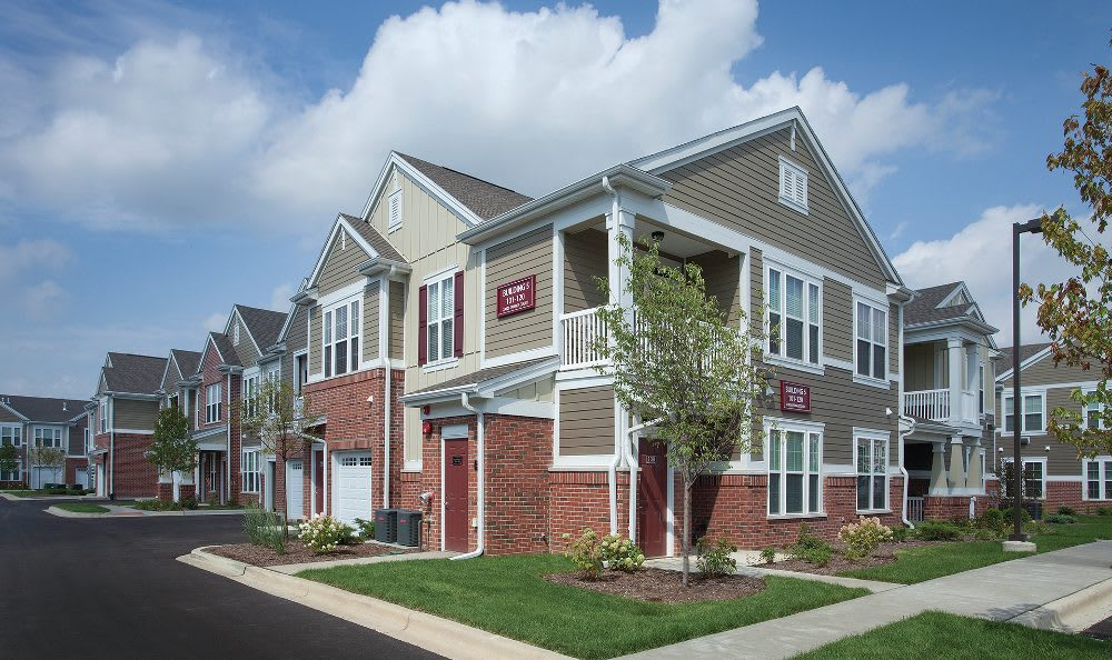 Building exterior at Springs at Liberty Township Apartments in Liberty Township