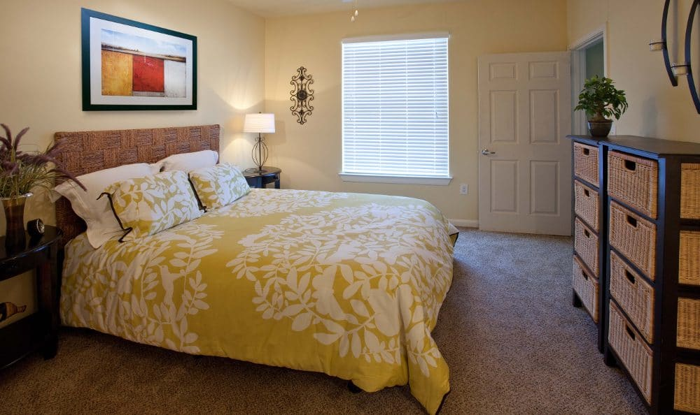Bedroom at Springs at Live Oak Apartments