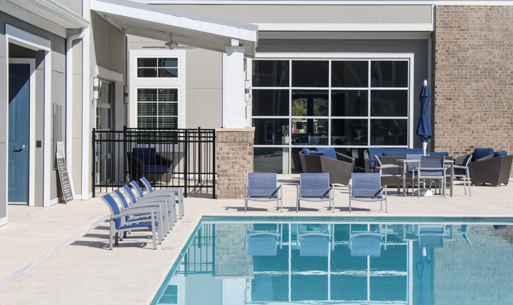 Resort-style pool at Springs at West Chester Apartments in West Chester, OH