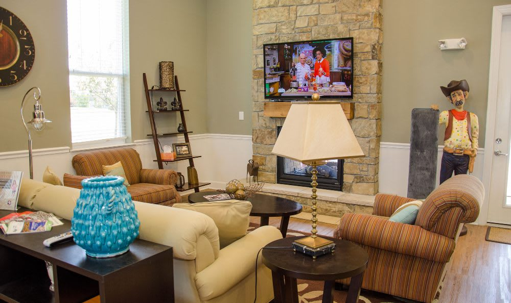 Enjoy the amenities in our clubhouse at Springs at Bettendorf