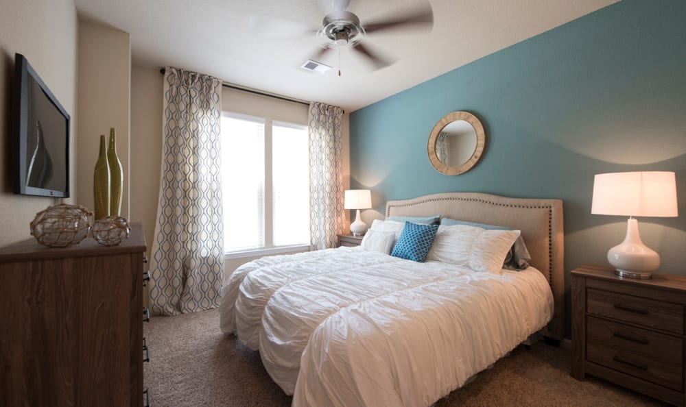 master bedroom at Springs at Essex Farms in Charleston, SC