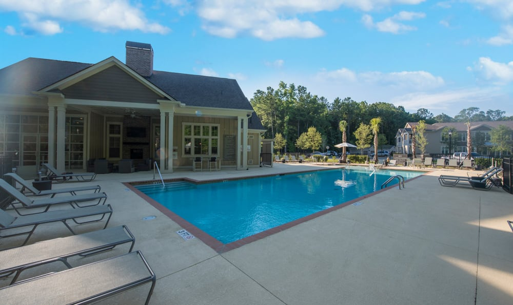 swimming pool at Springs at Essex Farms in Charleston, SC