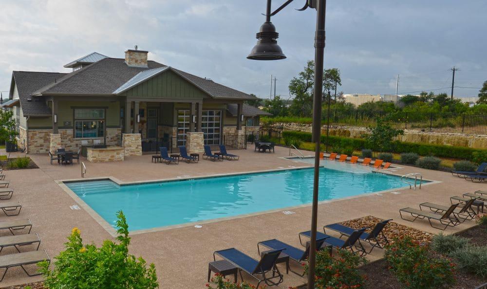 Pool at Springs at Memorial in Oklahoma City