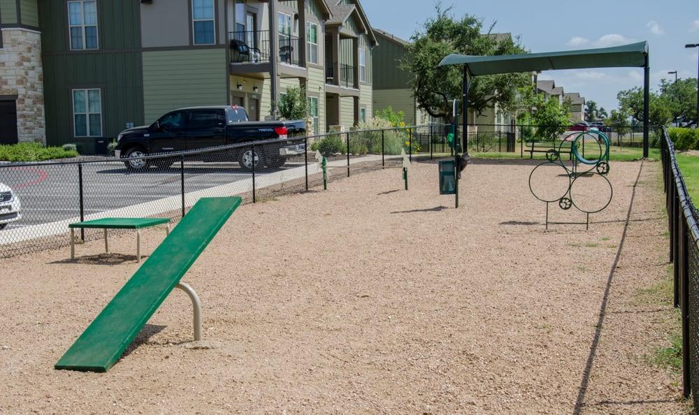 Pet playground at Springs at Memorial in {location_city}}, OK