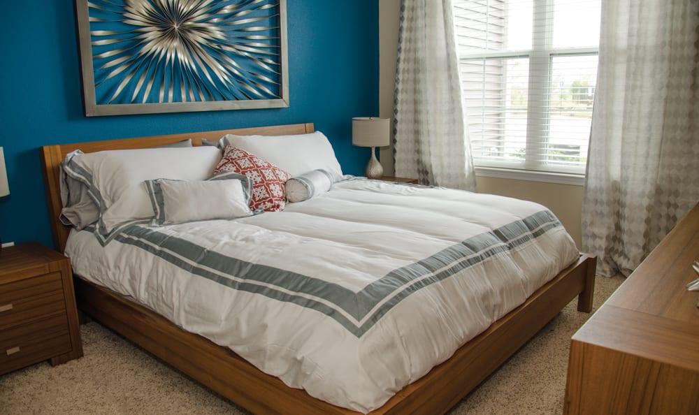 Spacious bedroom at Springs at Weber Road