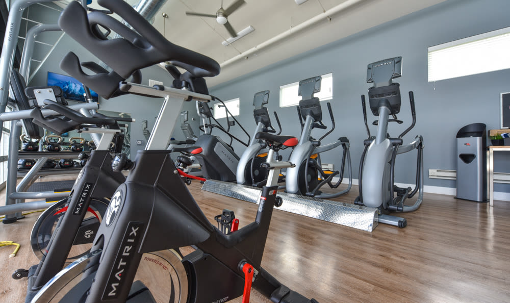 Fitness center at Springs at Orchard Road
