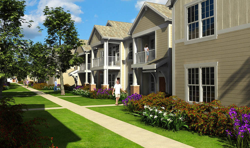 Exclusive apartment homes at Springs at Cottonwood Creek Apartments In Waco