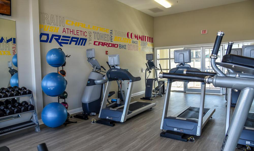 fitness center at Springs at Egan Drive in Savage, MN