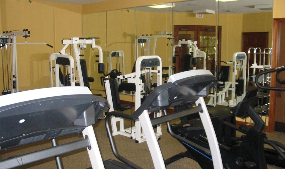 fitness center at Springs at Palma Sola in Bradenton, FL