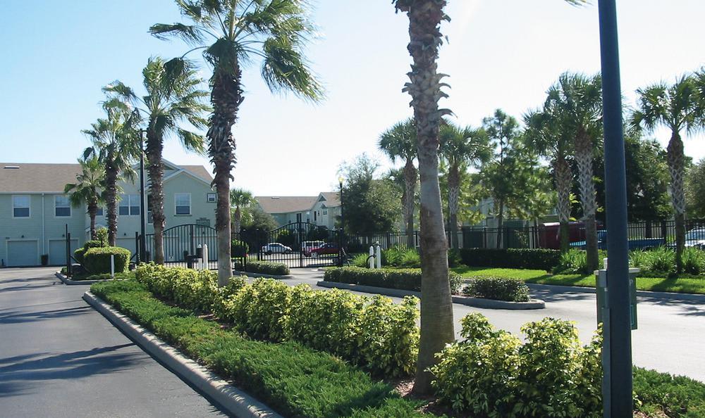 gate exterior view at Springs at Palma Sola in Bradenton, FL
