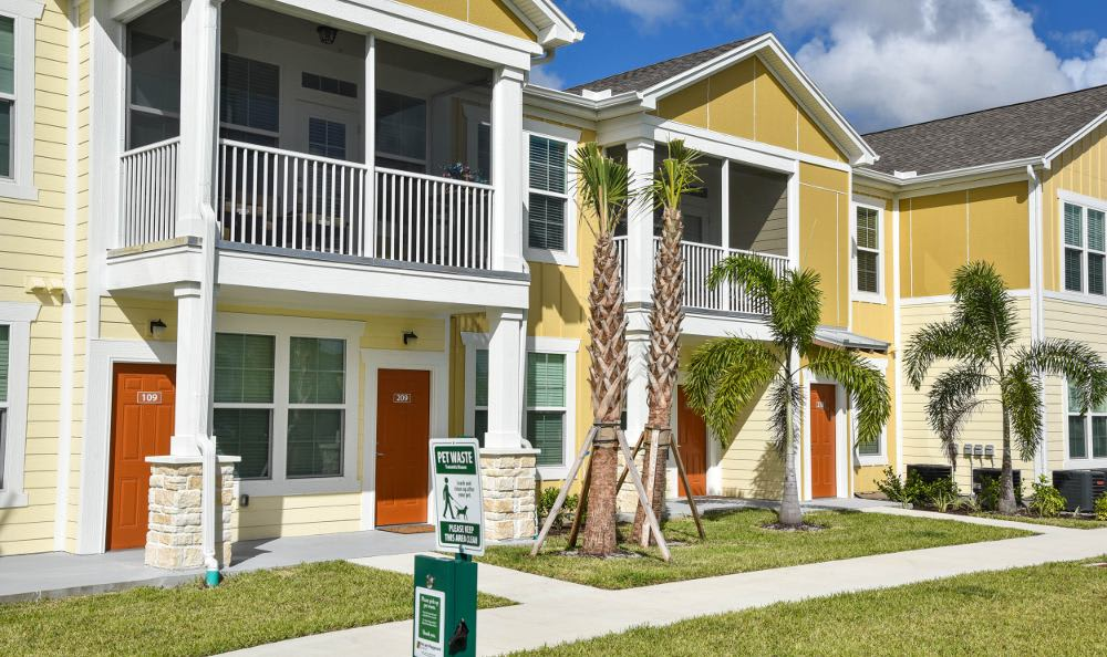 Building exterior at Springs at Six Mile Cypressin Fort Myers