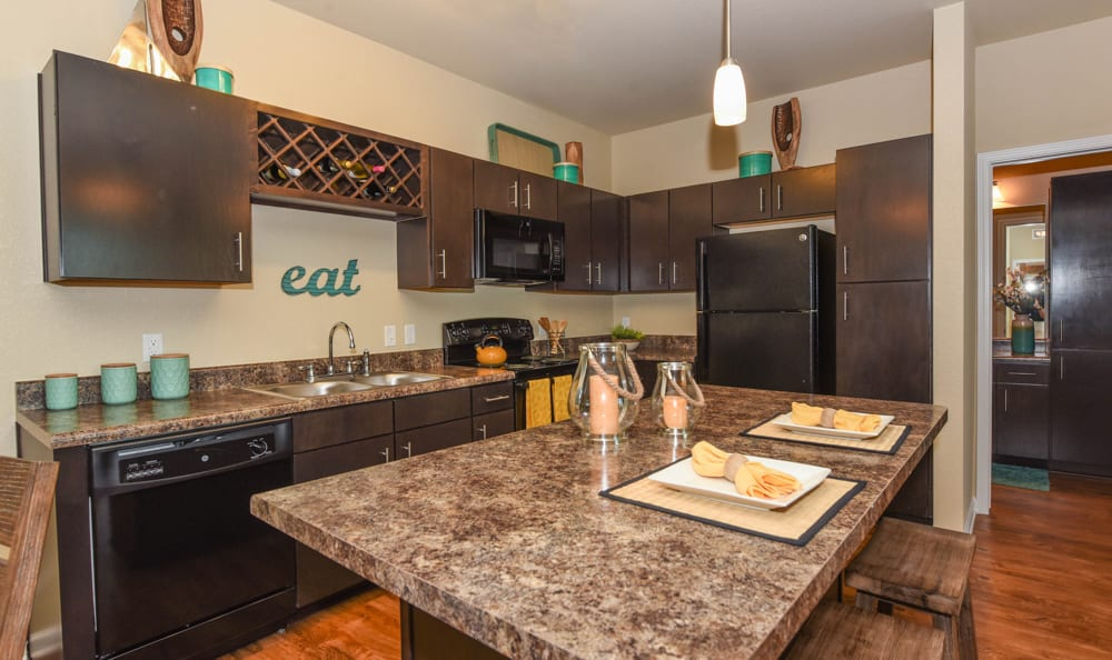 Updated kitchen at Springs at Six Mile Cypressin Fort Myers